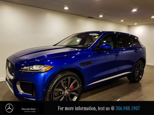 2017 Jaguar F-PACE S First Edition AWD