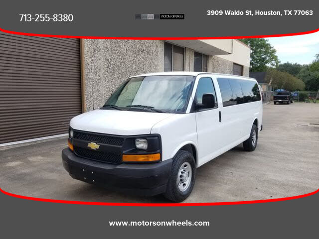 2017 Chevrolet Express 3500 LS Extended RWD