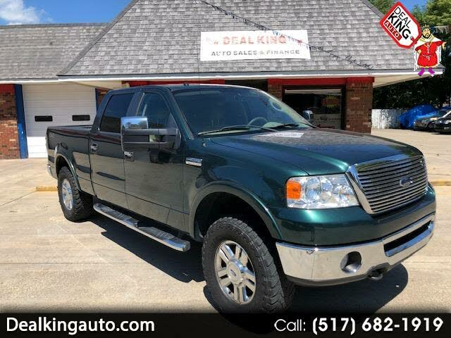 2008 Ford F-150 Lariat SuperCrew SB 4WD