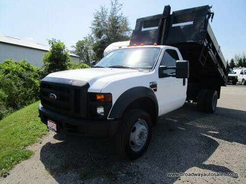 2008 Ford F-550 Super Duty Chassis XLT Crew Cab DRW 4WD