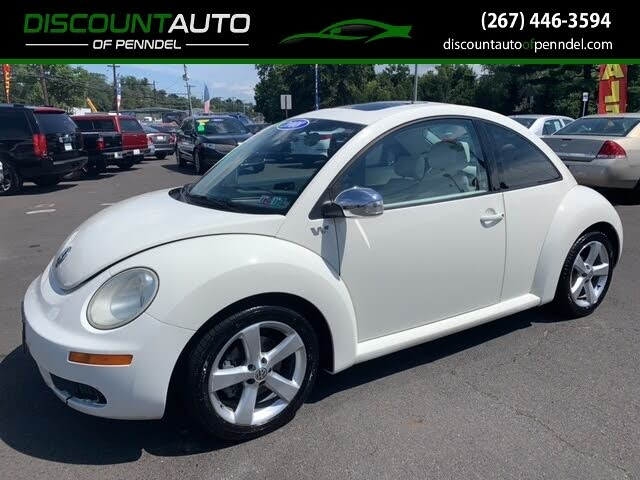 2008 Volkswagen Beetle Triple White