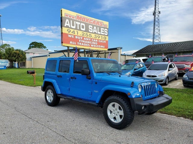 2011 Jeep Wrangler Unlimited Sahara 4WD