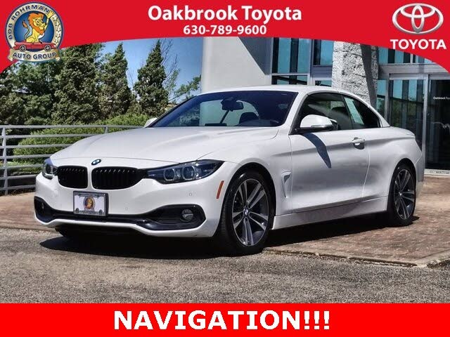 2020 BMW 4 Series 430i Convertible RWD