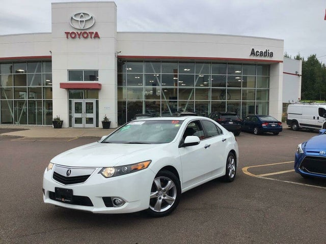 2012 Acura TSX Sedan FWD with Premium Package