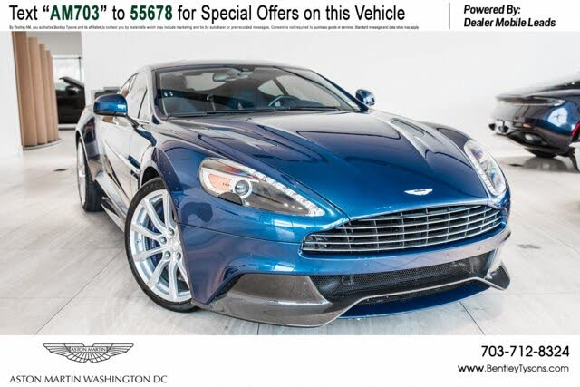 Used 2017 Aston Martin Vanquish S Coupe Rwd For Sale Right Now Cargurus