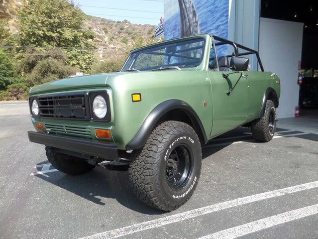 1977 International Harvester Scout II Terra 4WD