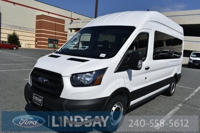 2020 Ford Transit Passenger 350 XL High Roof LWB RWD with Sliding Passenger-Side Door