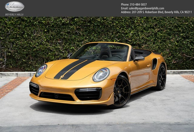 2019 Porsche 911 Turbo S Exclusive Convertible AWD