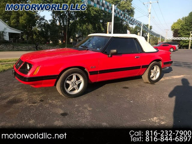 1983 Ford Mustang GLX Convertible RWD