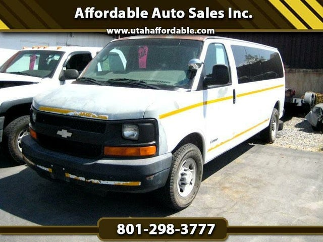 2006 Chevrolet Express 3500 LS Extended RWD