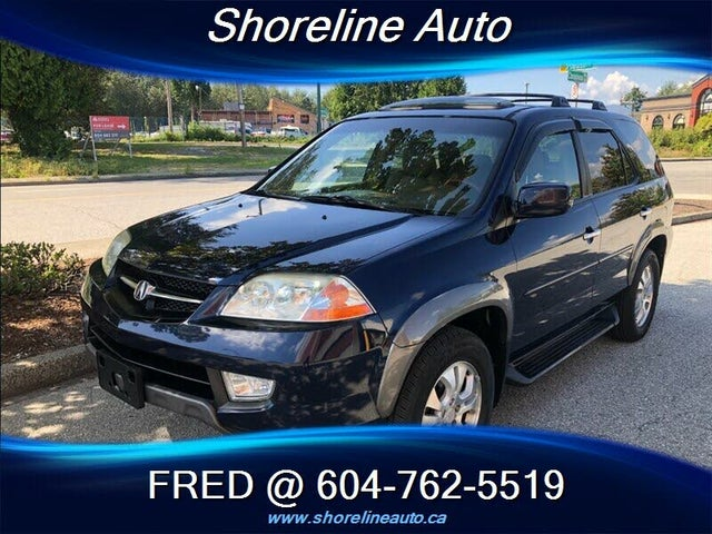 2003 Acura MDX AWD with Touring Package