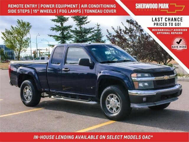 2007 Chevrolet Colorado LT Extended Cab 4WD