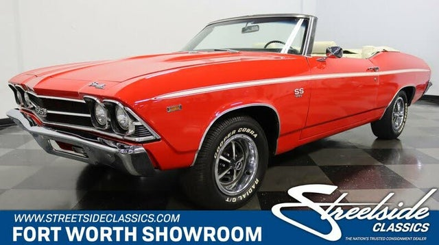 1969 Chevrolet Chevelle SS Convertible RWD