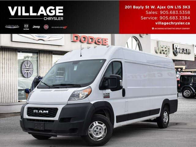 2019 RAM ProMaster 3500 159 High Roof Extended Cargo Van FWD