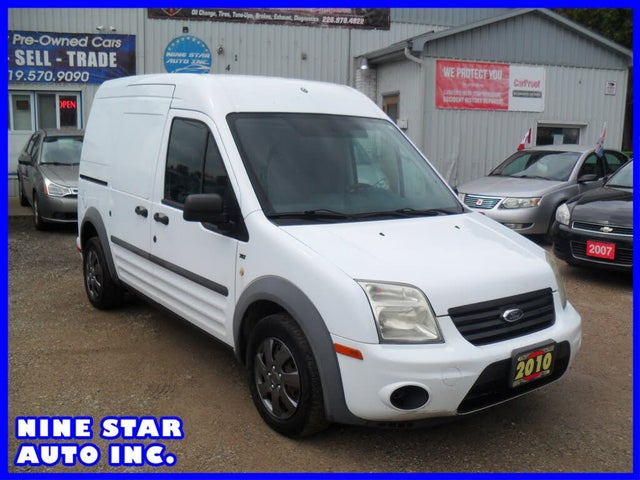 2010 Ford Transit Connect Cargo XLT FWD with Rear Glass