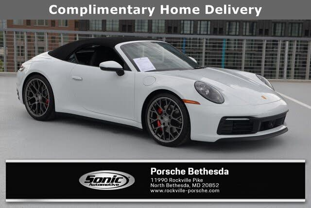 2020 Porsche 911 Carrera 4s Cabriolet Awd For Sale In Washington Dc Cargurus