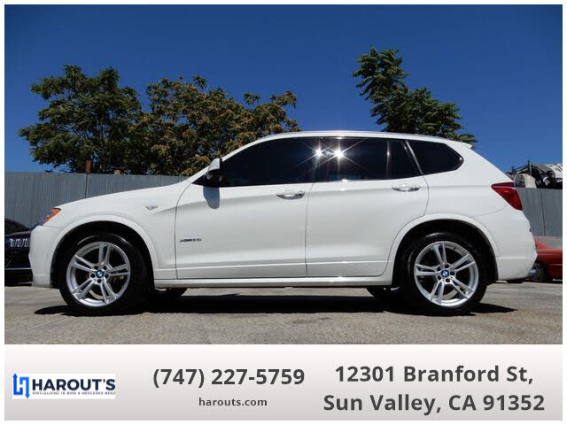 2014 BMW X3 xDrive35i AWD