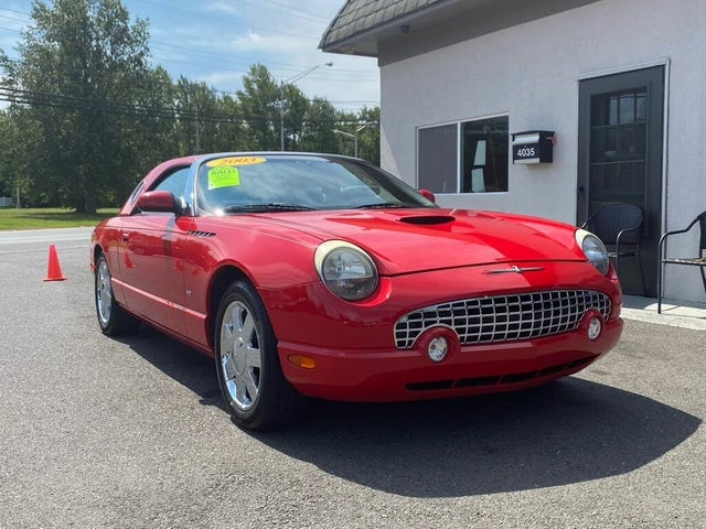 2003 Ford Thunderbird Premium with Removable Top RWD