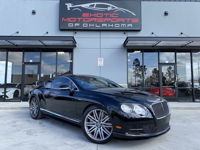 2015 Bentley Continental GT Speed AWD
