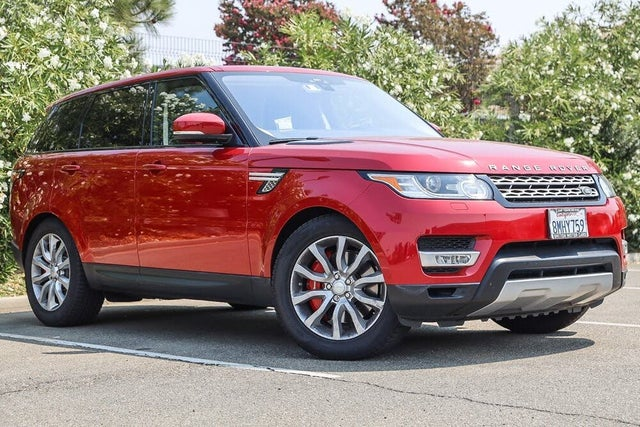 2017 Land Rover Range Rover Sport V8 Supercharged Dynamic 4WD