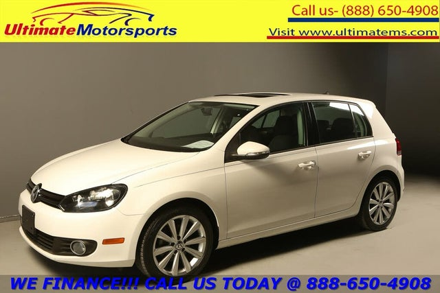 2013 Volkswagen Golf TDI with Sunroof and Nav