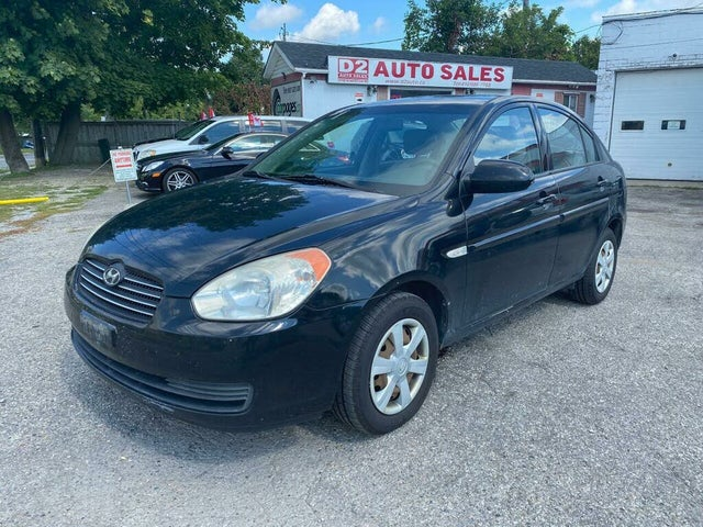 2007 Hyundai Accent GL Sedan FWD
