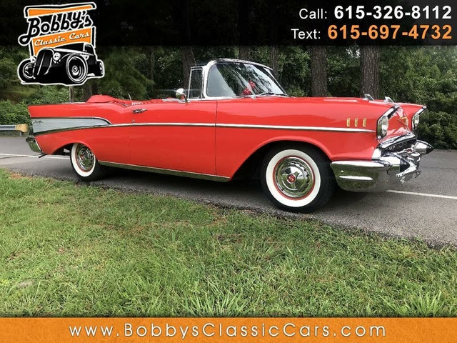 1957 Chevrolet Bel Air Convertible RWD