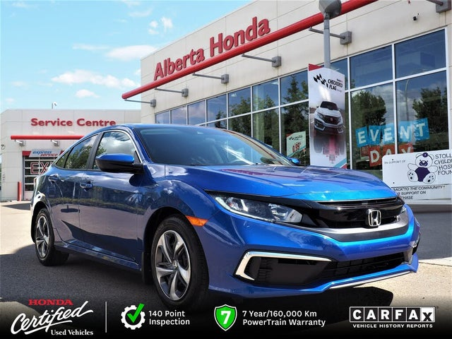2020 Honda Civic LX Sedan FWD