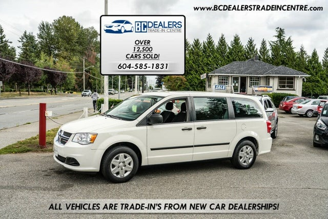 2013 Dodge Grand Caravan SE Canada Value Package FWD