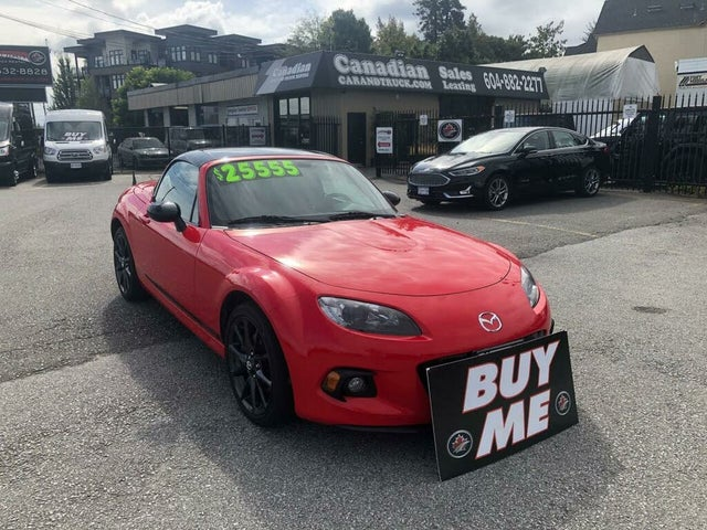 2013 Mazda MX-5 Miata Club Convertible with Retractable Hardtop
