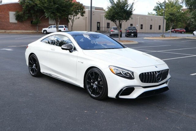2019 Mercedes-Benz S-Class Coupe S 63 AMG 4MATIC AWD