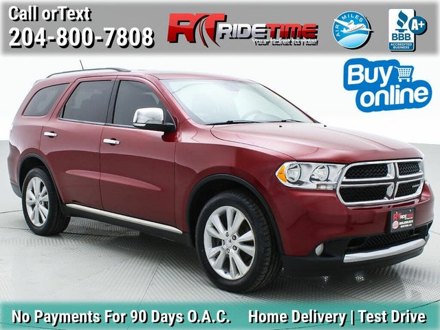 2013 Dodge Durango Crew Plus AWD