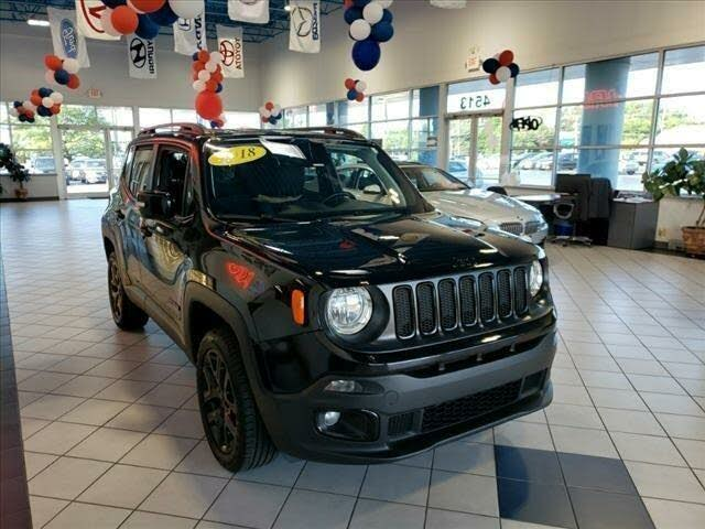 2018 Jeep Renegade Altitude 4WD
