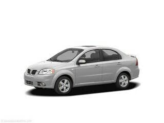 2007 Pontiac Wave Sedan FWD