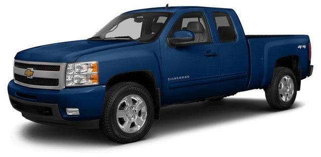 2013 Chevrolet Silverado 1500 Work Truck Extended Cab LB 4WD