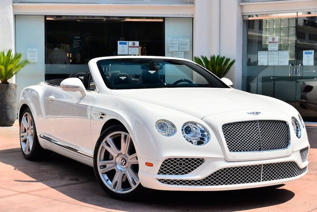 2017 Bentley Continental GTC V8 AWD