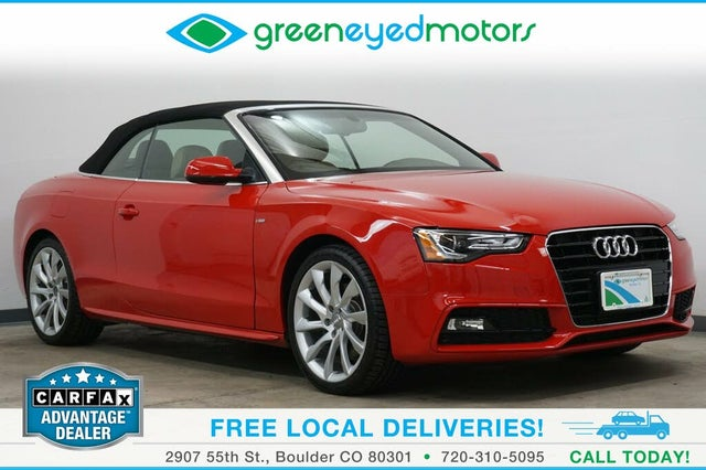 2014 Audi A5 2.0T Prestige Cabriolet FWD