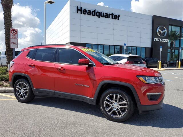 2018 Jeep Compass Latitude with Sun and Wheel Package FWD