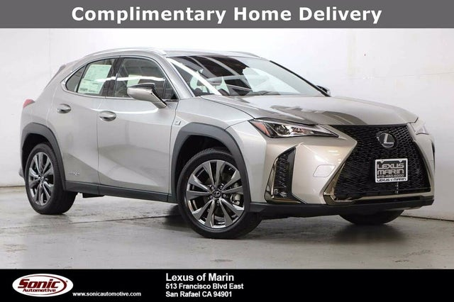 Used 2020 Lexus Ux Hybrid 250h F Sport Awd For Sale With Photos Cargurus