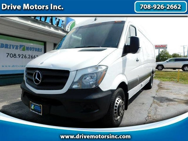 2015 Mercedes-Benz Sprinter Cargo 3500 170 High Roof Extended DRW RWD