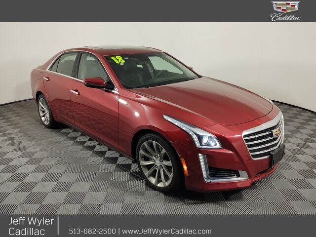 2018 Cadillac CTS 2.0T Luxury AWD