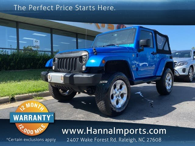 2016 Jeep Wrangler For Sale In Raleigh Nc Cargurus