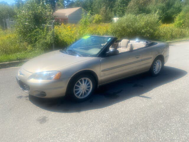 2002 Chrysler Sebring LX Convertible FWD