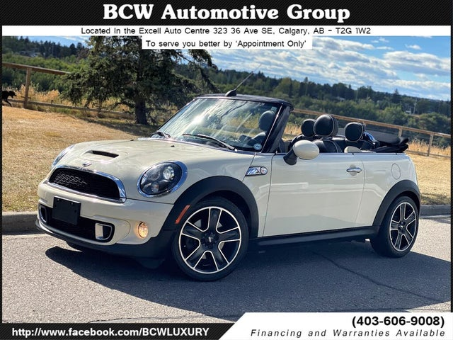 2013 MINI Cooper S Convertible FWD