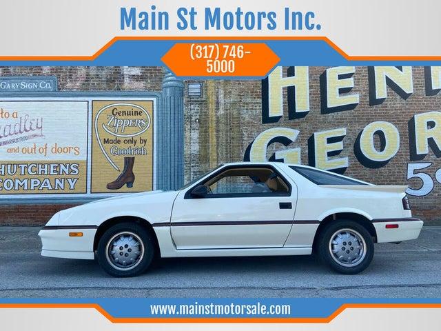 1987 Dodge Daytona 2 Dr Shelby Turbo Z Hatchback