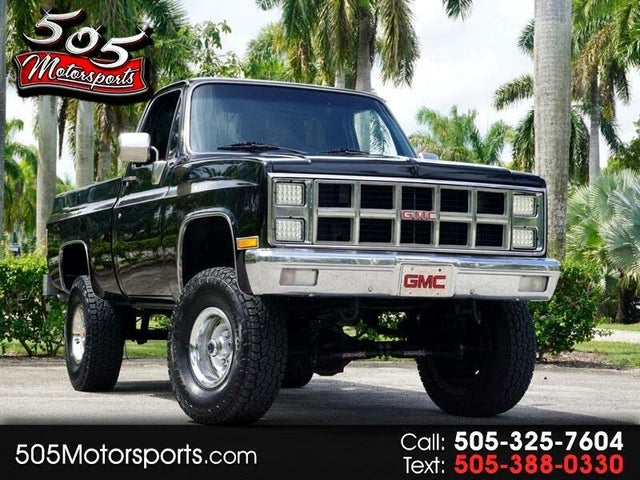 1982 GMC C/K 1500 Series K1500 4WD