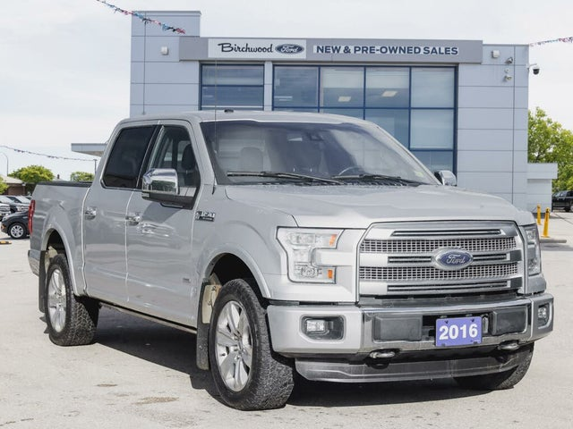 2016 Ford F-150 Platinum SuperCrew LB 4WD