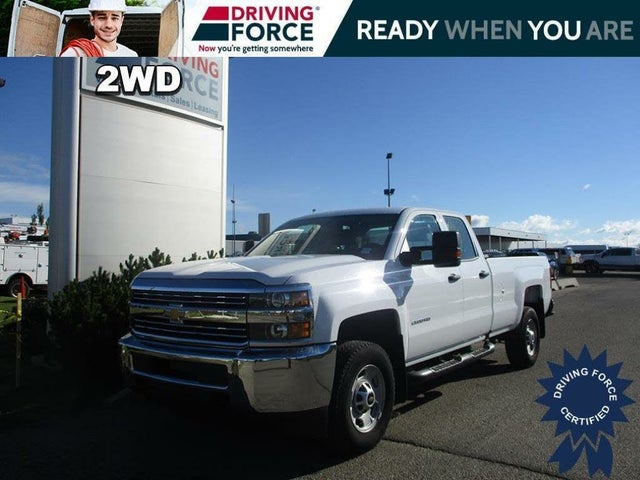 2017 Chevrolet Silverado 2500HD Work Truck Double Cab RWD