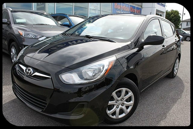 2014 Hyundai Accent L 4-Door Hatchback FWD