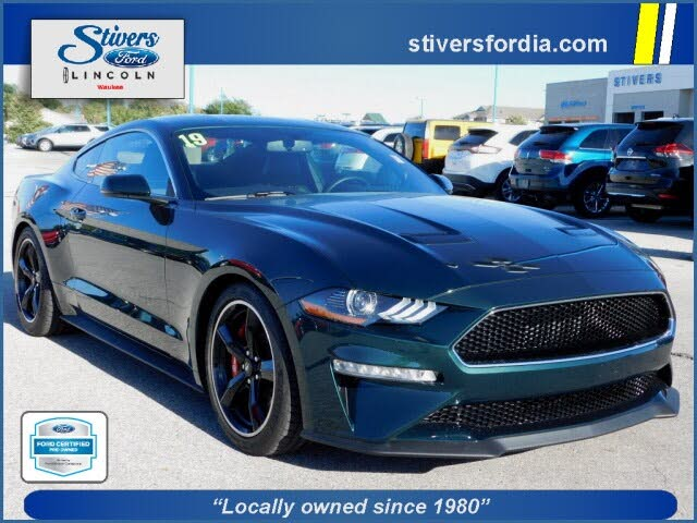2019 Ford Mustang Bullitt Coupe RWD